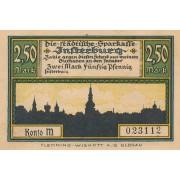 Įsrutis. 1920 m. 2.5 markės. XF+