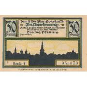 Įsrutis. 1920 m. 30 pfennigų. aUNC