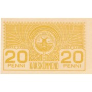 Estija. 1919 m. 20 penių. aUNC