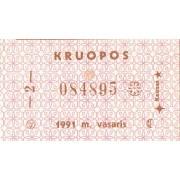 Kaunas. 1991 m. vasaris. Kruopos