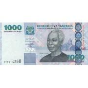 Tanzanija. 2006 m. 1.000 šilingų. P36b. UNC