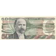 Meksika. 1984 m. 500 pesų. VF