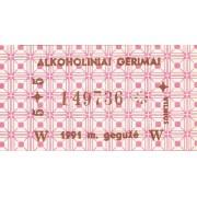 Alkoholiniai gėrimai. 1991 m. gegužė
