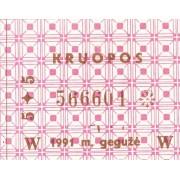 Kruopos. 1991 m. gegužė