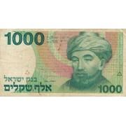 Izraelis. 1983 m. 1.000 šekelių. F