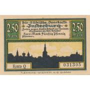 Įsrutis. 1920 m. 2.5 markės. aUNC