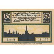 Įsrutis. 1920 m. 1.5 markės. aUNC