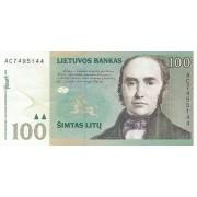 Lietuva. 2000 m. 100 litų. VF Serija: AC
