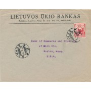 Kaunas. 1926 m. LIETUVOS ŪKIO BANKAS