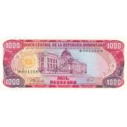 Dominikos Respublika. 1978 m. 1.000 pesų. SPECIMEN. UNC