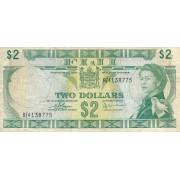 Fidžis. 1974 m. 2 doleriai. P72c. VF-