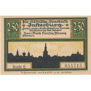 Įsrutis. 1920 m. 2.5 markės. UNC