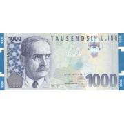 Austrija. 1997 m. 1.000 šilingų. VF