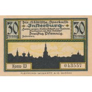 Įsrutis. 1920 m. 30 pfennigų. XF