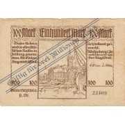Karaliaučius. 1923 m. 3.000.000 markių ant 100 markių. RETAS. F