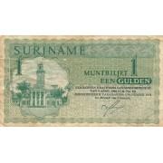 Surinamas. 1974 m. 1 guldenas. F