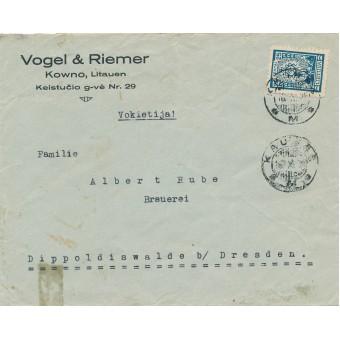 Kaunas. 1925 m. Vogel & Riemer