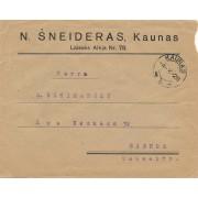 Kaunas. 1928 m. N.ŠNEIDERAS