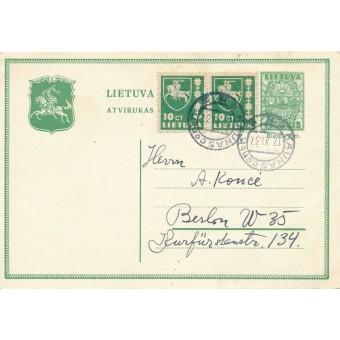 Kaunas. 1937 m.