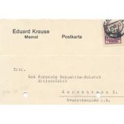 Klaipėda. 1930 m. Eduard Krause