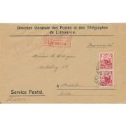 Kaunas. 1932 m. Direction Generale des Postes et des Telegraphes de Lithuanie