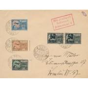 Kaunas. 1924 m. Oro paštas