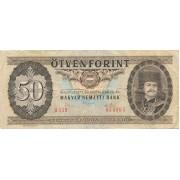 Vengrija. 1975 m. 50 forintų