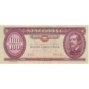 Vengrija. 1989 m. 100 forintų