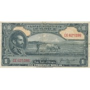 Etiopija. 1945 m. 1 doleris. P12b
