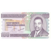 Burundis. 2011 m. 100 frankų. UNC