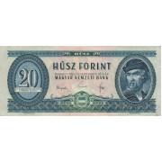 Vengrija. 1965 m. 20 forintų