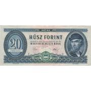 Vengrija. 1975 m. 20 forintų