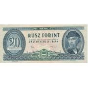 Vengrija. 1980 m. 20 forintų