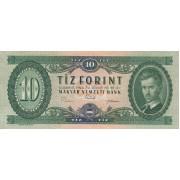 Vengrija. 1969 m. 10 forintų