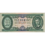Vengrija. 1962 m. 10 forintų