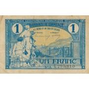 Prancūzija / Pa de Kalė. 1925 m. 1 frankas
