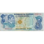 Filipinai. 1978 m. 2 pesai. P159c