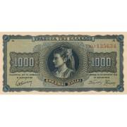 Graikija. 1942 m. 1.000 drachmų