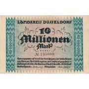 Vokietija / Diuseldorfas. 1923 m. 10.000.000 markių