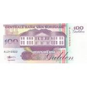 Surinamas. 1998 m. 100 guldenų. UNC