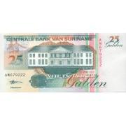 Surinamas. 1998 m. 25 guldenai. UNC