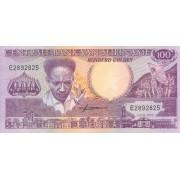 Surinamas. 1986 m. 100 guldenų. UNC