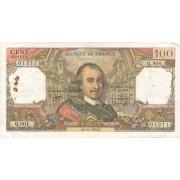 Prancūzija. 1975 m. 100 frankų
