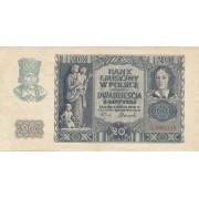 Lenkija. 1940 m. 20 zlotų