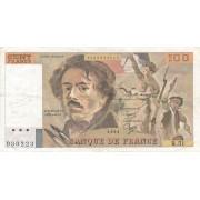 Prancūzija. 1981 m. 100 frankų