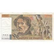 Prancūzija. 1982 m. 100 frankų