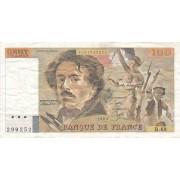 Prancūzija. 1983 m. 100 frankų