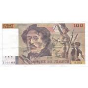 Prancūzija. 1994 m. 100 frankų