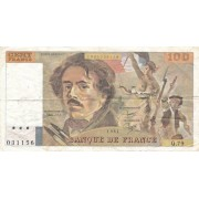 Prancūzija. 1984 m. 100 frankų