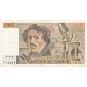 Prancūzija. 1985 m. 100 frankų
